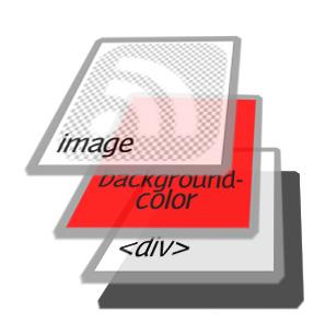 una imagen sobre un div con un color de fondo